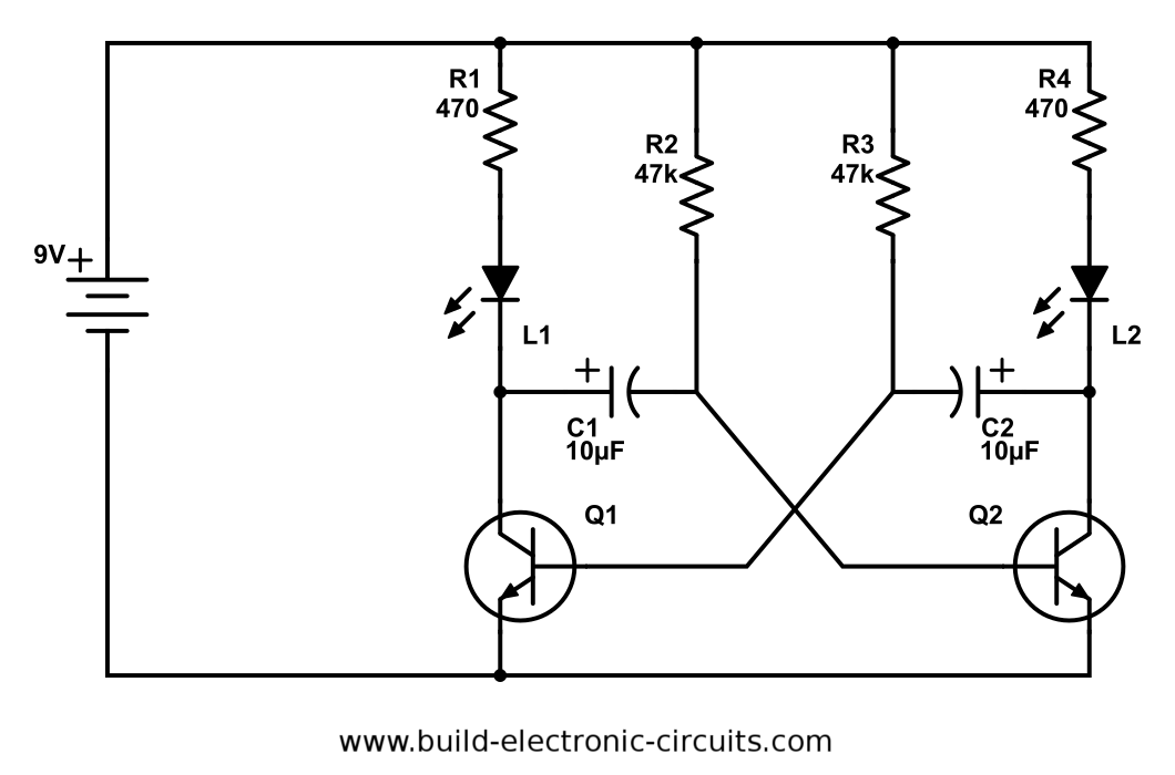 have you ever built blinking led circuit