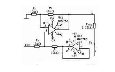 Three-wire Constant Current Source Driving Circuit