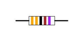 Four-band-code Resistor