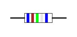 Six-band-code Resistor