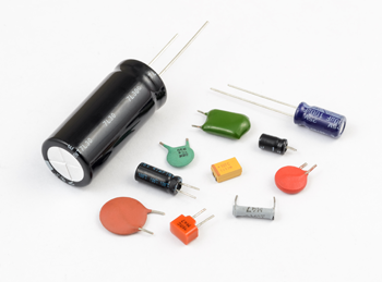 kinds of capacitors