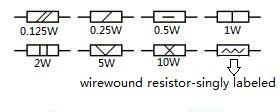 resistor electrical symbol