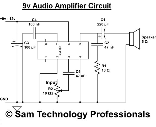 Any Advice for simple audio amplifier pink fish media