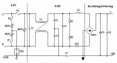 Switch Mode Power Supply Circuit Diagram | Switched Mode Power Supply Tutorial Principles Functions Of Smps