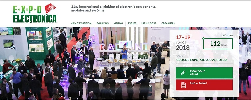 expo electronica--Expo electronica--21st International Exhibition of electronic components
