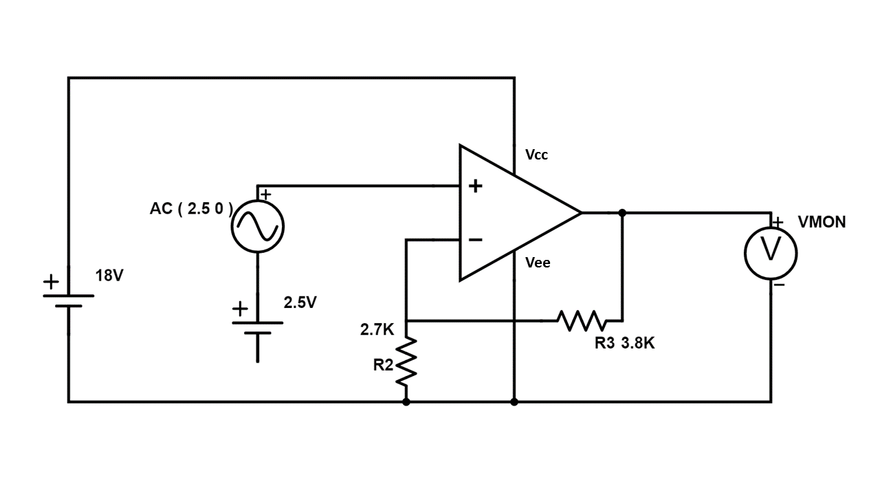 Testing Neutral To Ground Voltage Of Switching Mode Power Supplies Non Inverting Amplifier Circuit Diagram The Op Amp Is Set Up In A Configuration And Gain Should Be Correct Give 0 12 V Output Based On 5 Input