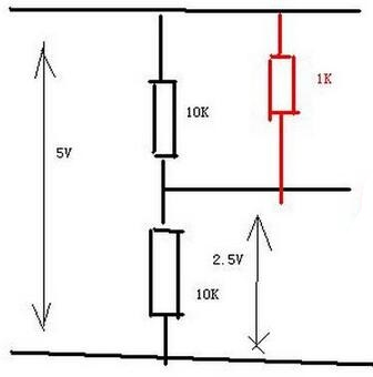 Schematic of Pull-up Resistor at Positive Input