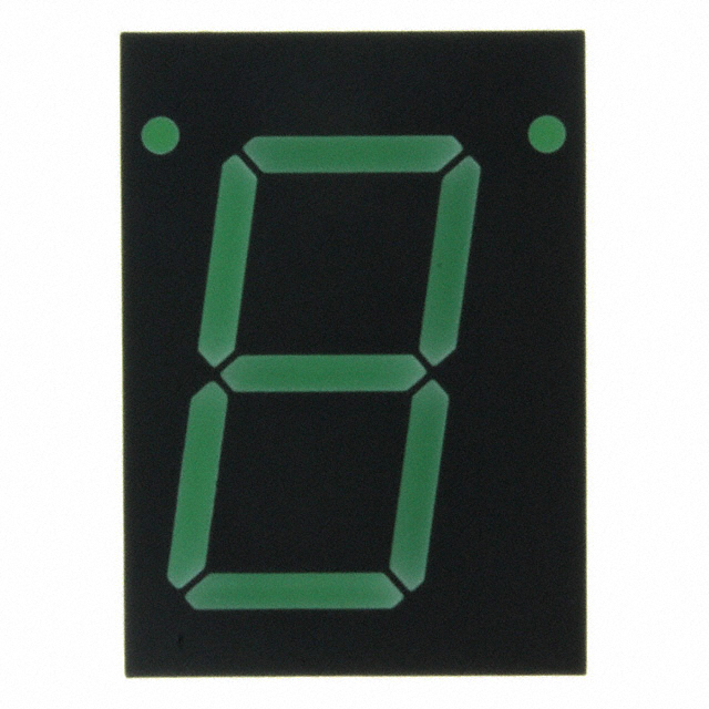 """7-SEG/' LED DISPLAY LOT OF 4 x HP HDSP-5603 Green 571nm  0.56/"""" SEE PICTURE!"""